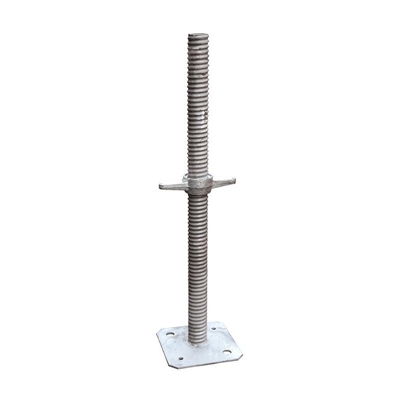 Gerüstspindel Gerüstfüße Spindel neu Gerüst 38mm 50 cm